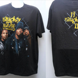 "1993 Vintage ""NAUGHTY BY NATURE"" Rap Tee"